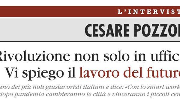 Cesare Pozzoli: Smart working e lavoro del futuro